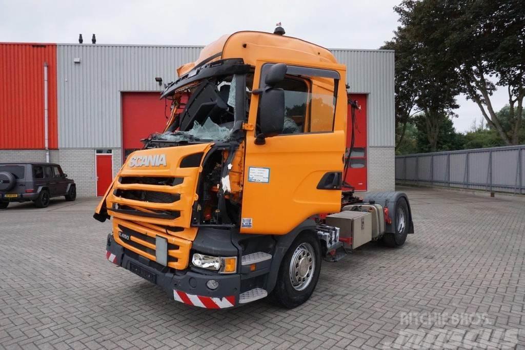Scania R450 / AUTOMATIC / RETARDER / HYDRAULICS / LOW KM´