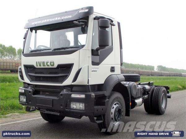 Iveco Trakker AD190T38H-3800, 2014, Chassier