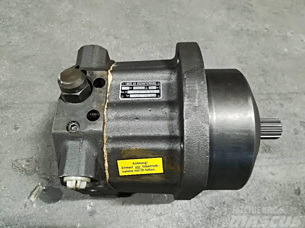 Lännen T-221 Telavaihteen Hydraulimoottori Linde HMV75/4