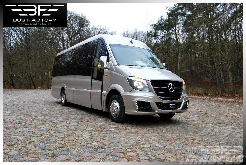 Mercedes-Benz Sprinter 519 XXL Vip 20+1 panoramic side windows !