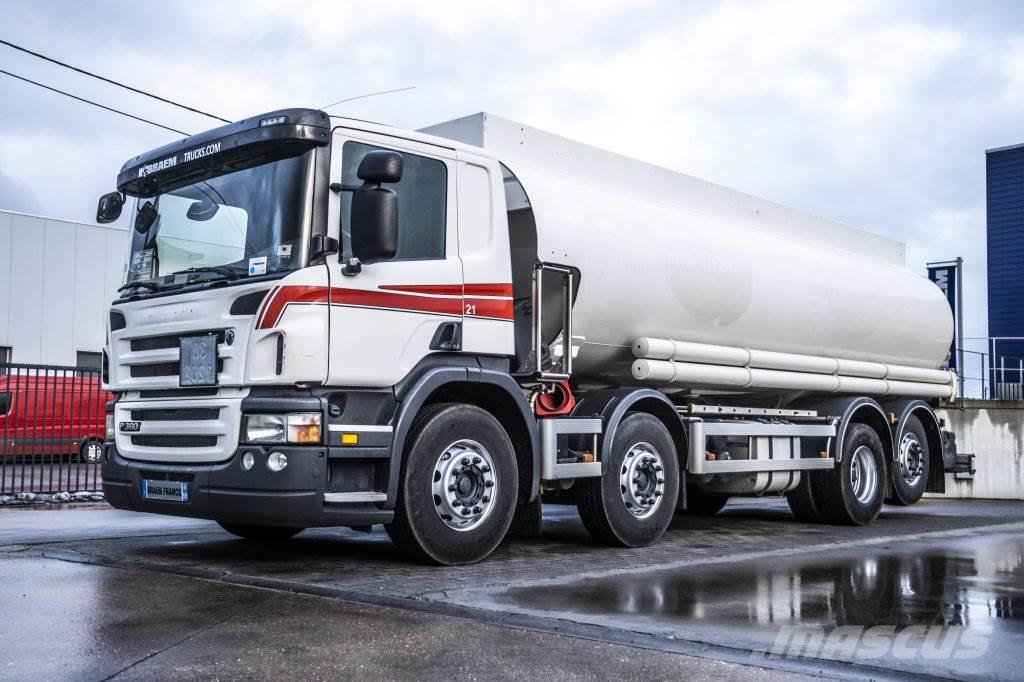 Scania P360 EURO 5 +TANK MAGYAR 24000L (7 comp.)