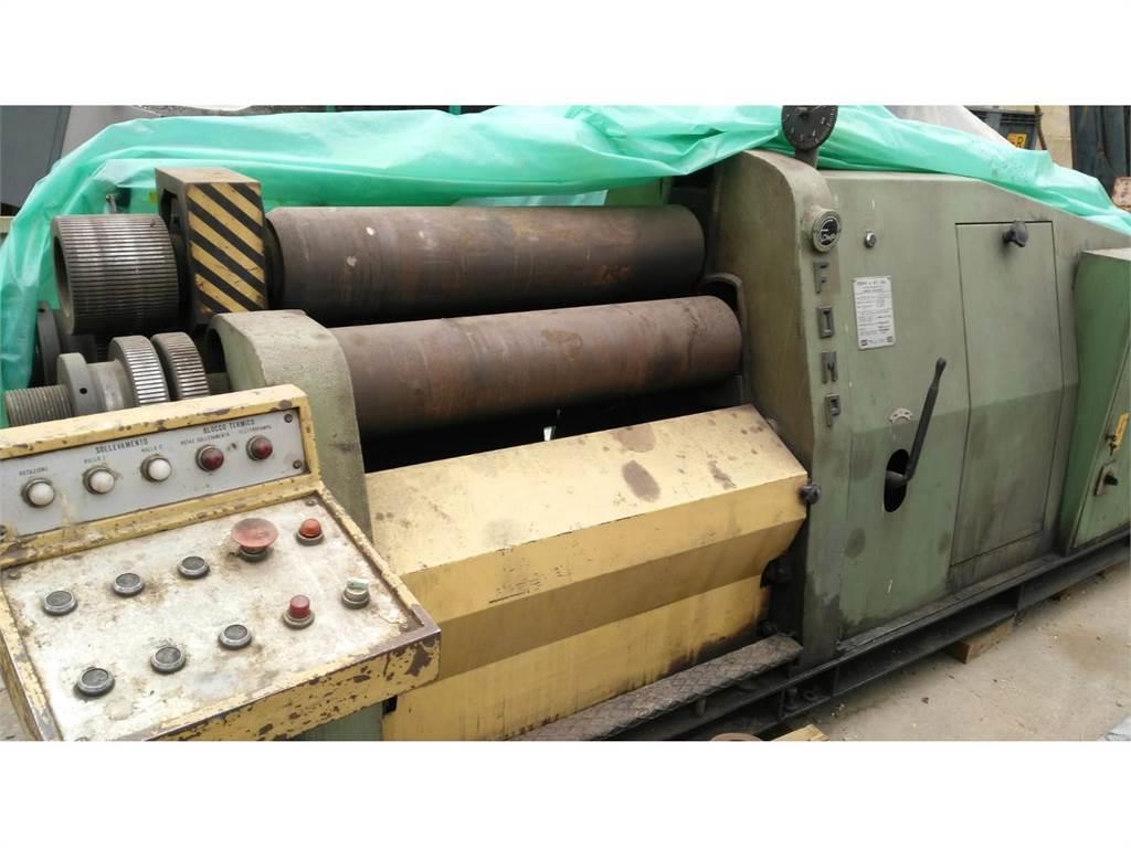 [Other] Calandra a due rulli 1000 x 16mm con rulli piega