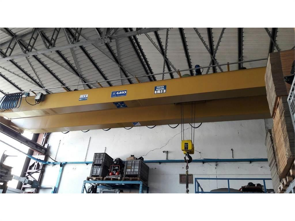 [Other] Carroponte GHO scartamento 13600mm x 10 ton di