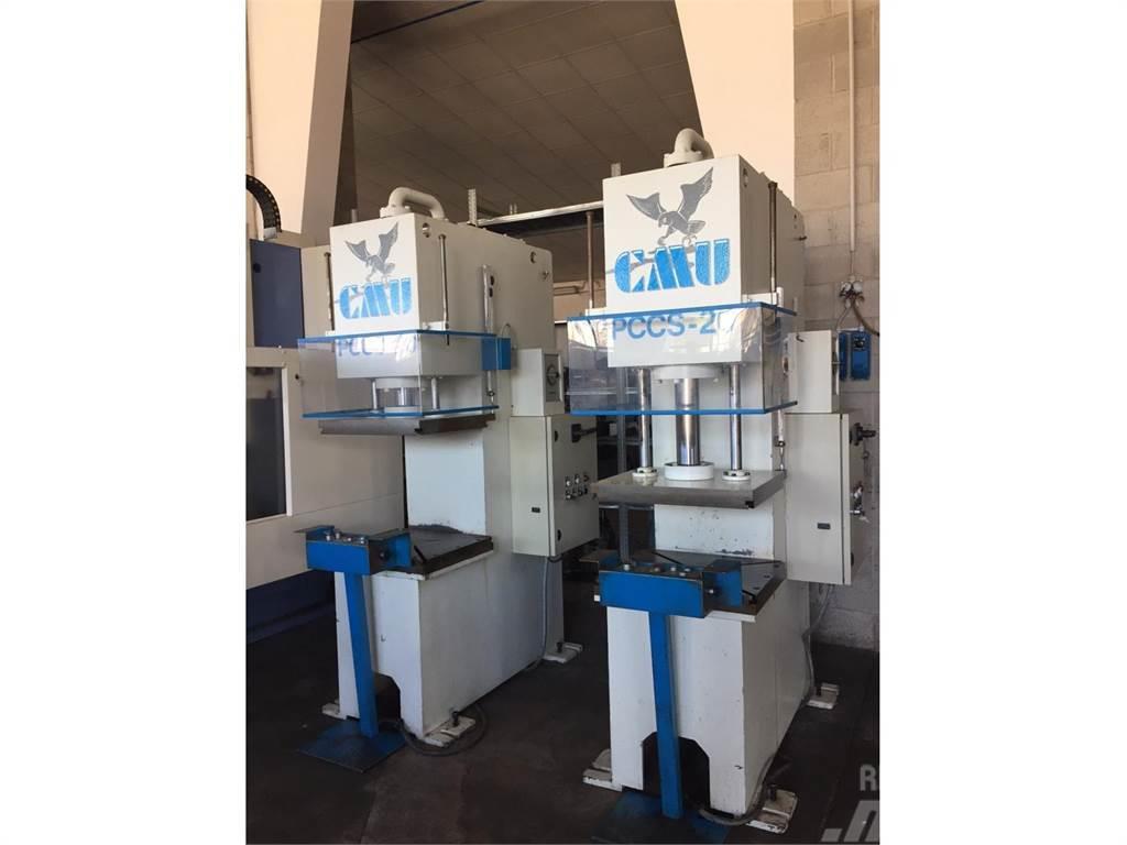 [Other] N.02 presse idrauliche CMU T 20 Marchio CE.