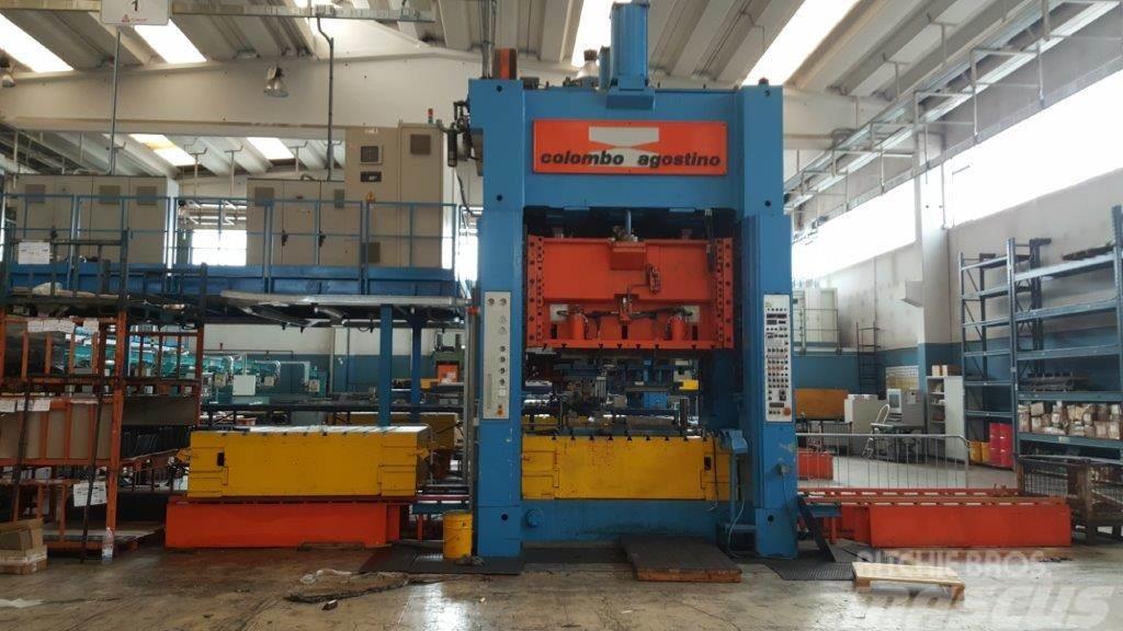 [Other] Pressa AGOSTINO COLOMBO 200 ton