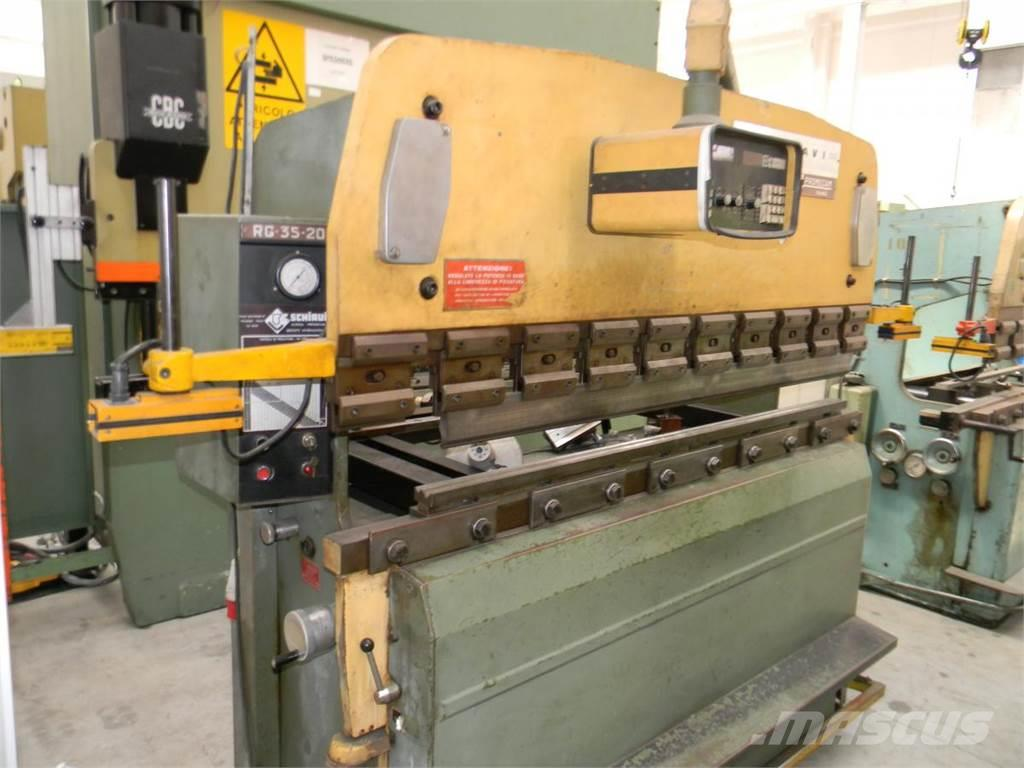 [Other] pressa piegatrice SCHIAVI 2000 x 35 ton