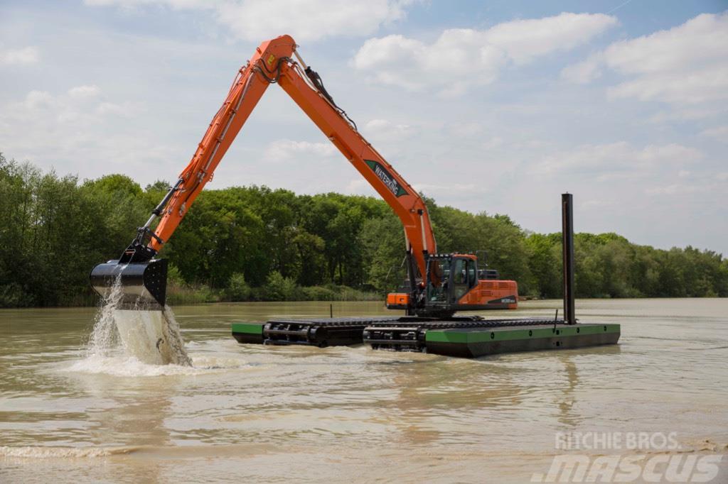 Waterking amphibious excavator 30 t class,Excavadora anfibia