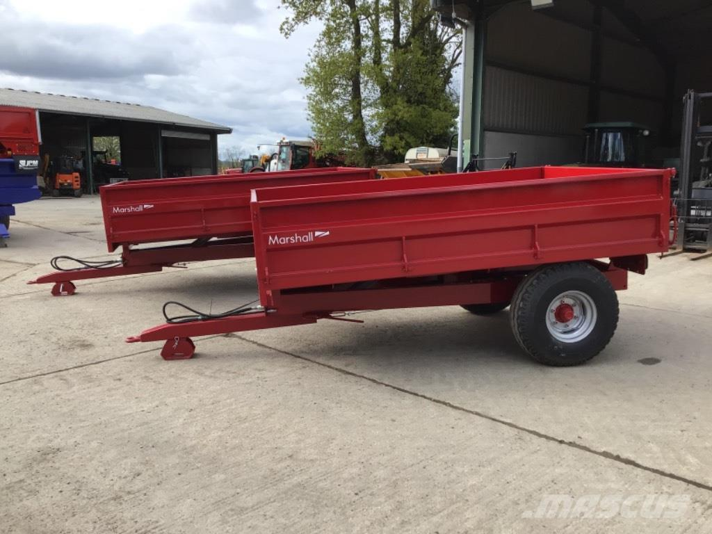 Marshall S5 5 ton tipping trailer