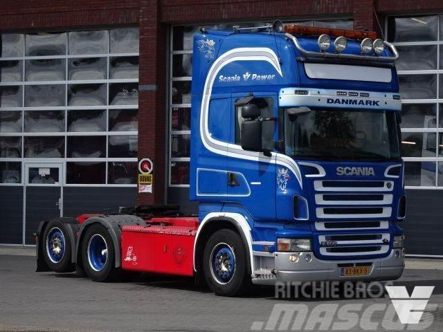 Scania R500 LA6x2LNA Manuel