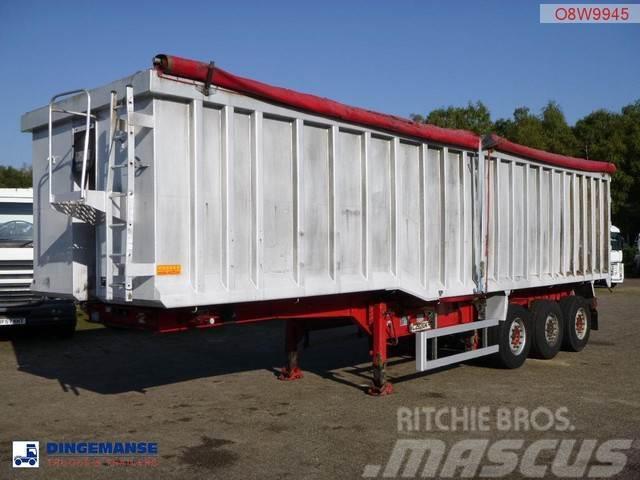 Wilcox Tipper trailer alu 51 m3