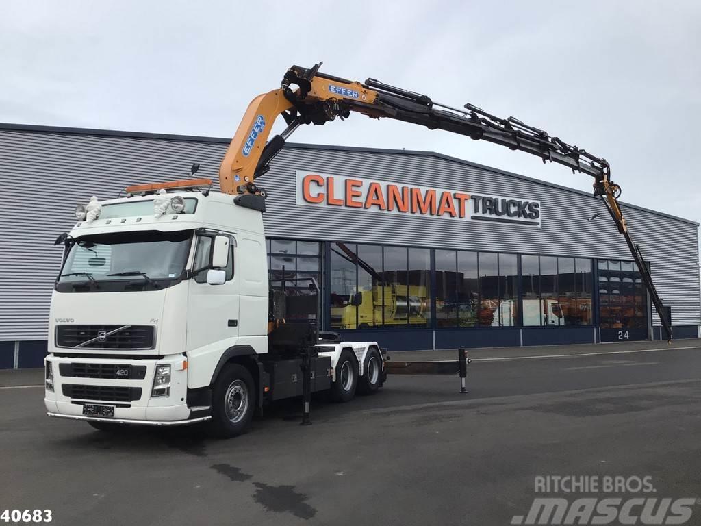 Volvo FH 12.520 6x4 Effer 47 ton/meter laadkraan + JIB