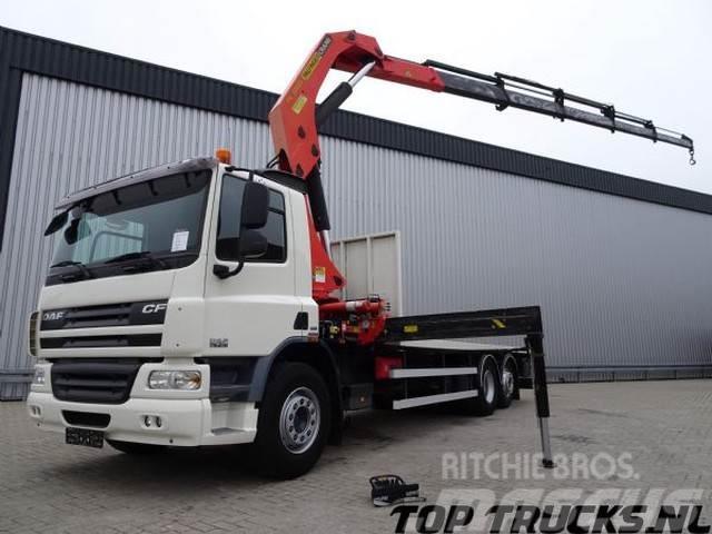 DAF CF 75.310 6X2 - PALFINGER 32 TM Kraan, Crane, Kran