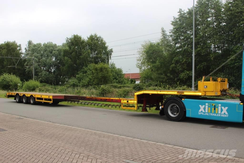 Broshuis 3-axle extendable Semi-lowloader