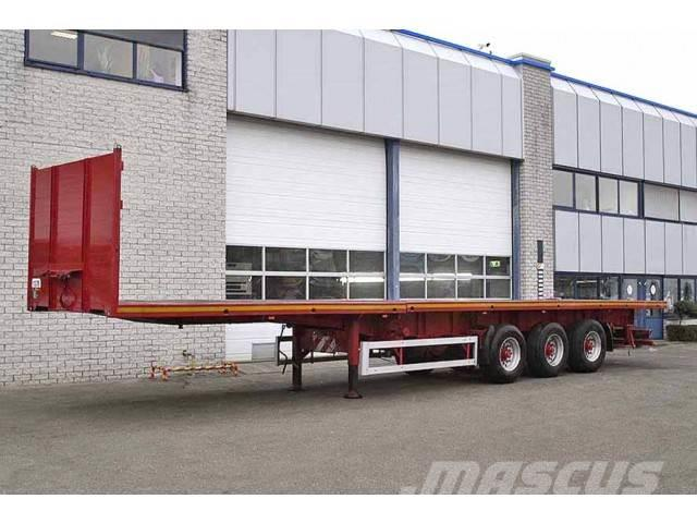 Krone SDP24 3 AXLE EXTENDABLE FLATBED TRAILER
