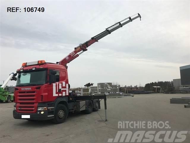 Scania R560 V8 6X2 RETARDER HMF 2220 EURO 4