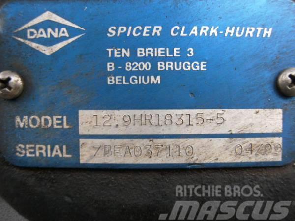 Spicer Clark Hurth 12.9HR18315-5, 1999, Växellådor