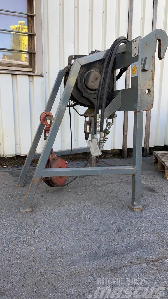 [Other] Terex, Italmachine, 3 t Seilwinde, Teleskopstapler
