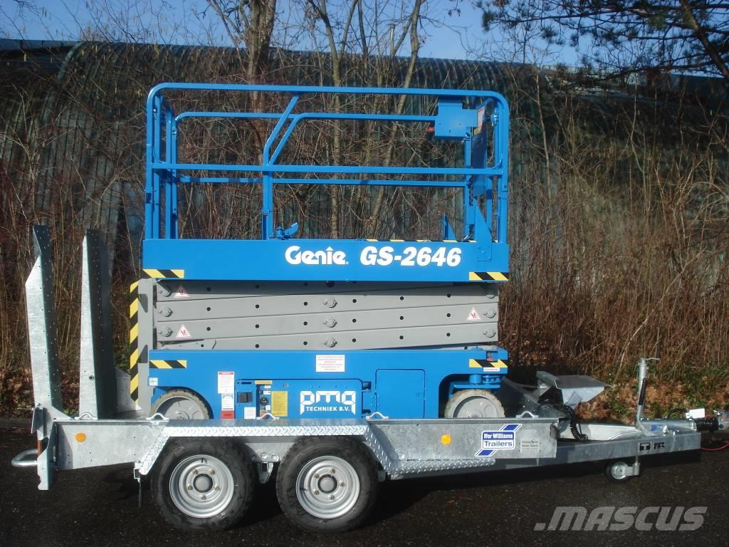 Genie / Ifor Williams GS2646 / GH1054BT