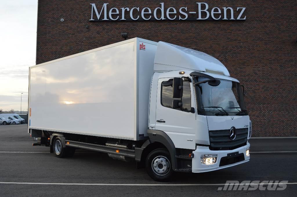 Used mercedes benz atego 916 box trucks year 2018 price for White mercedes benz truck