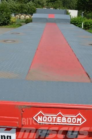 Nooteboom MCO-97-06 EXTENDABLE 6-Achs, Vermietung möglich, 2002, Låg lastande semi trailer