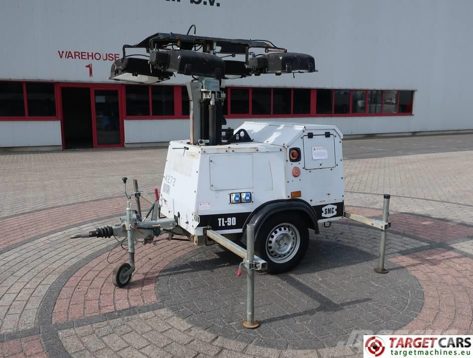 SMC TL90 TOWER LIGHT 900CM W/GENERATOR DEFECT
