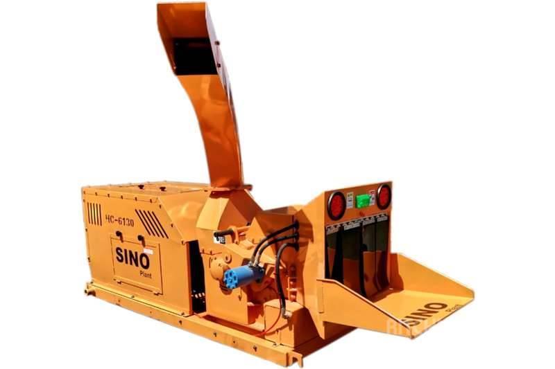 Sino Plant Wood Chipper 300x200 Diesel Engine