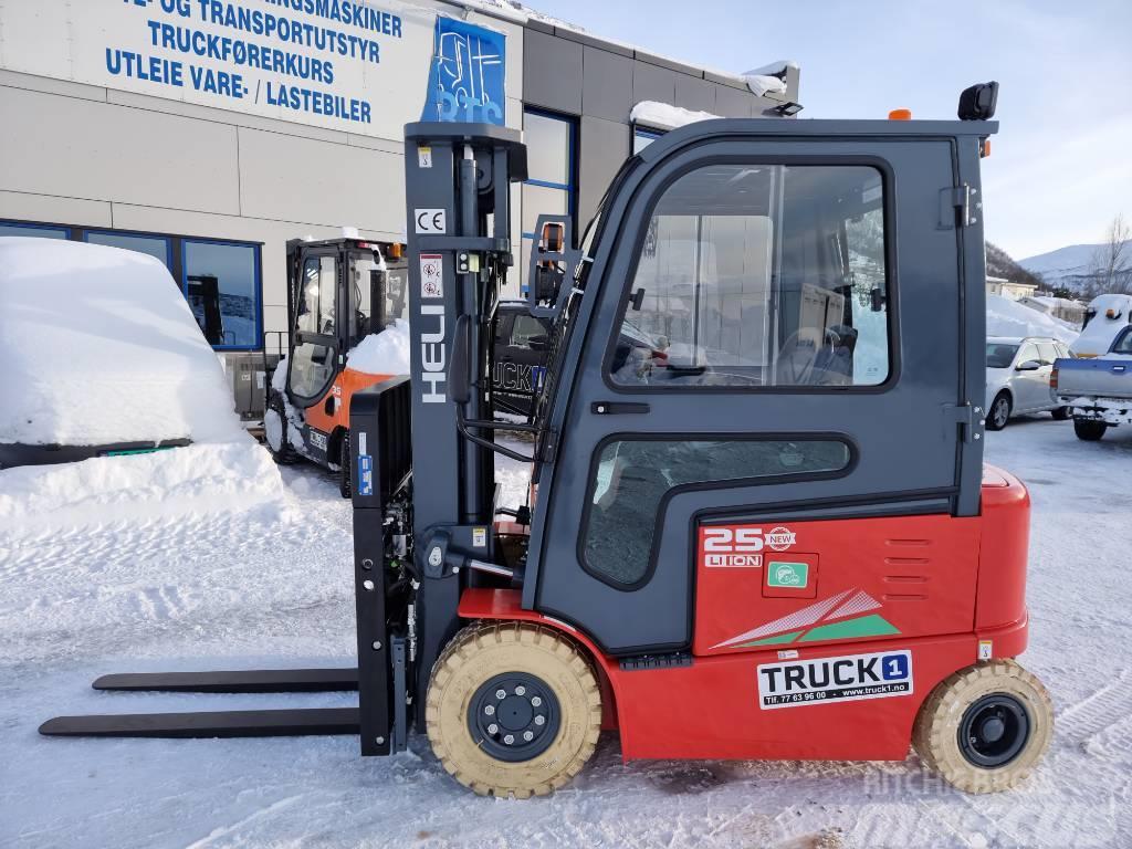 Heli CPD25-GB2LI - 2,5 t el. truck 4,7 m LH (PÅ LAGER)