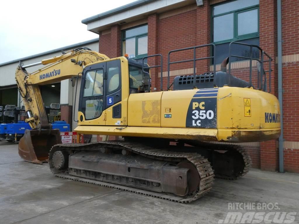 Used Komatsu PC350LC-8 crawler excavators Year: 2015 for sale