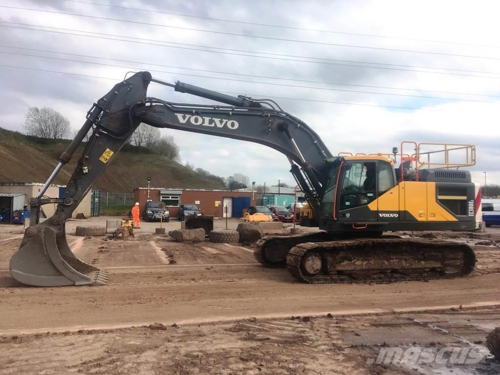 Volvo EC380EL Crawler excavators, Year of manufacture: 2016 - Mascus UK