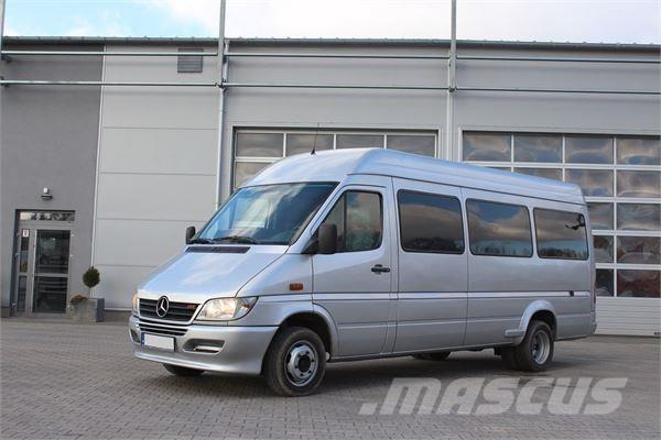 mercedes benz sprinter 416 cdi bus occasion prix 15 700 ann e d 39 immatriculation 2003. Black Bedroom Furniture Sets. Home Design Ideas