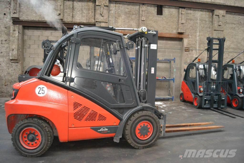 Linde H50T-600 EVO // 1.661 Std. / 3. Ventil / HH 4.610
