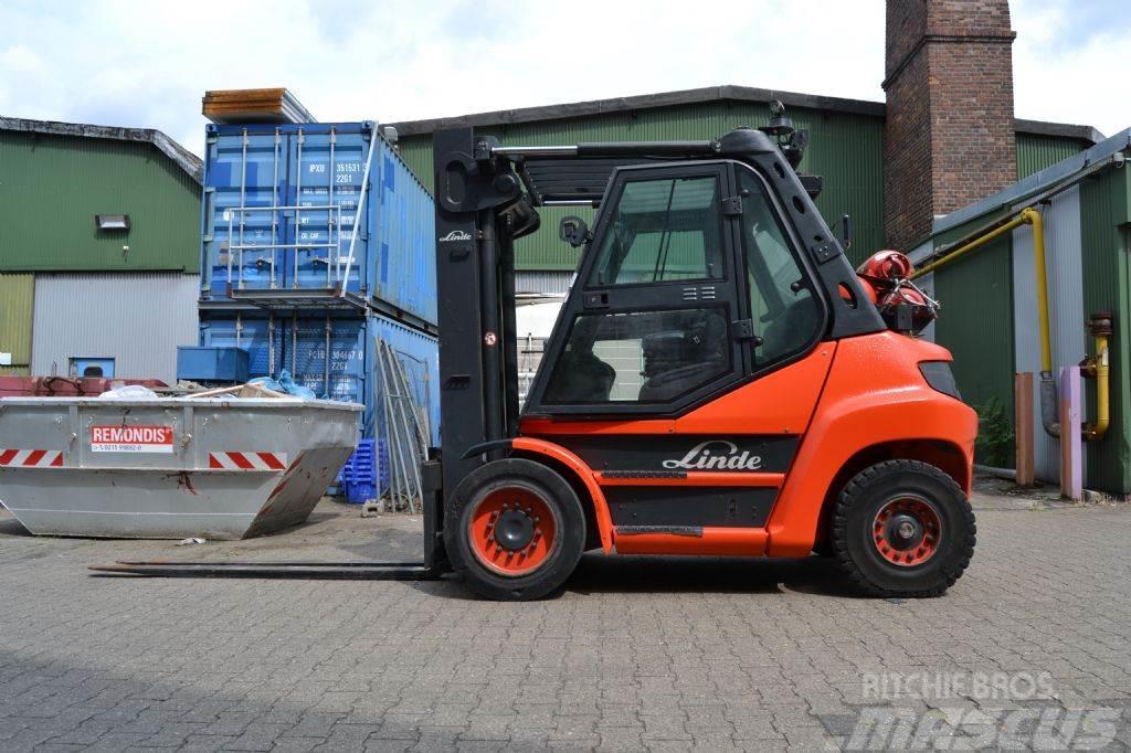Linde H70T-01 // HH 3.450 mm / Seitenschieber