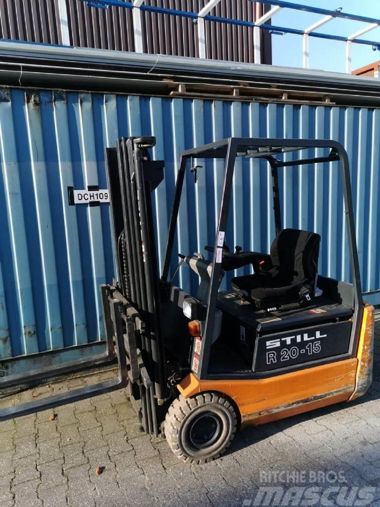 Still R20-15 // Batt. Bj. 2014 / Containerfähig / 3. Ven
