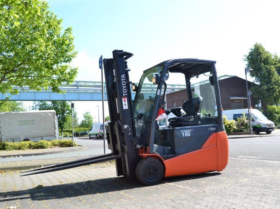 Toyota 8FBET16 // Duplex / HH 3300 mm / FH 1560 mm / Seit