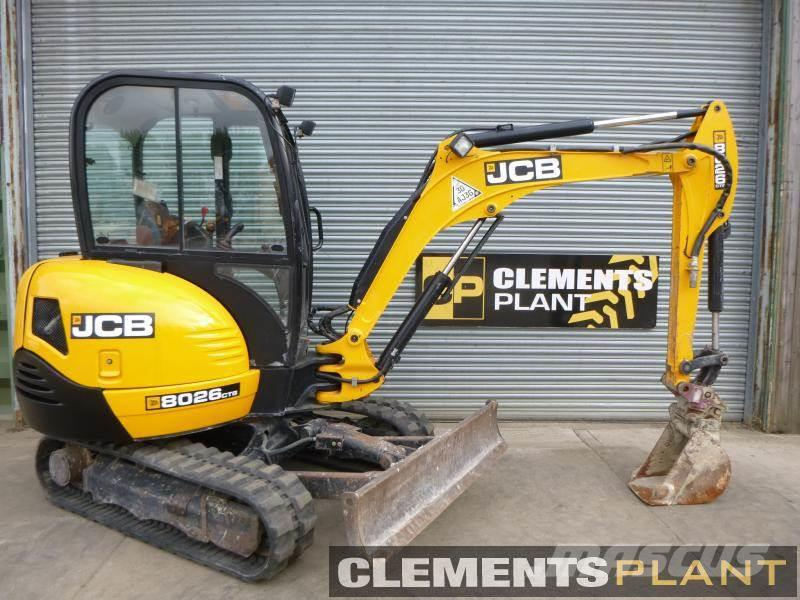 JCB 8026CTS , 2014 - Mini excavators < 7t (Mini diggers) - Mascus