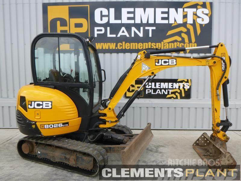 JCB 8026CTS Mini excavators < 7t (Mini diggers), Year of manufacture
