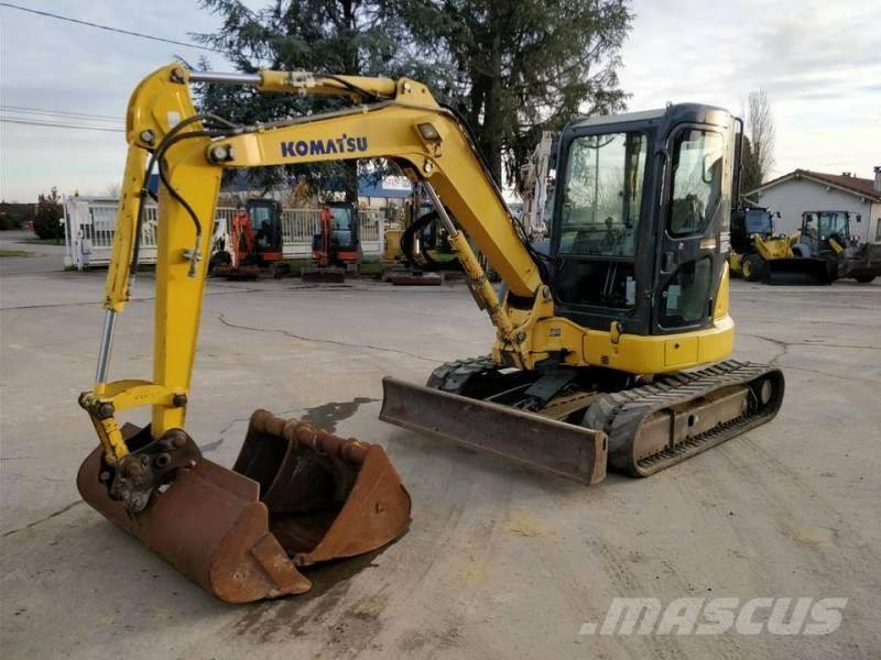 Komatsu pc45 mini excavator from italy for sale at truck1, id: 1563793.