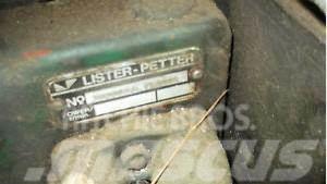 Lister Petter Diesel Engine