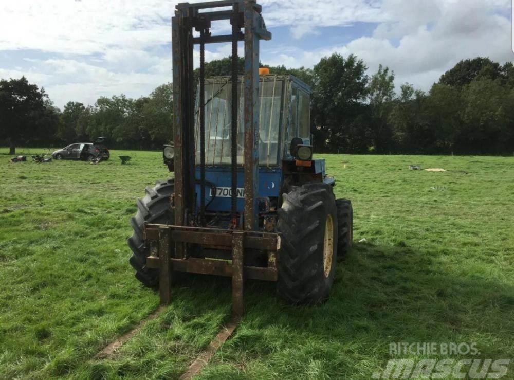 Manitou rough terrain forklift £3400 plus vat £4080 inc va