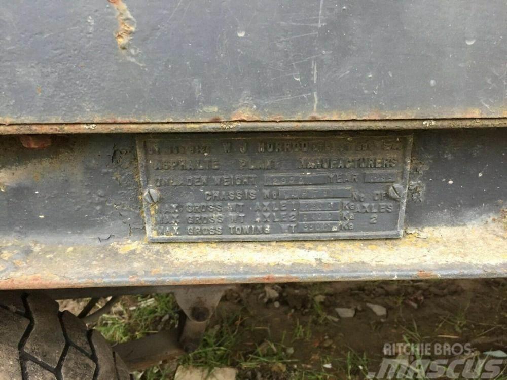 [Other] Hot box trailer - WJ Horrod Asphalt Plant £850 plu