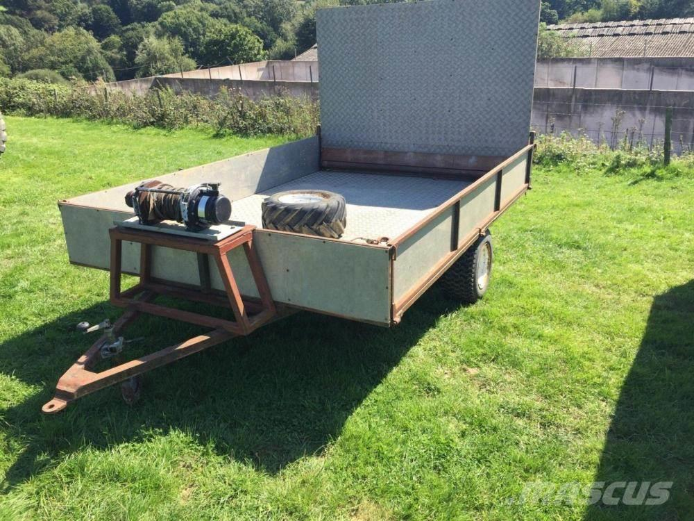 [Other] Low level trailer with hydraulic winch £700