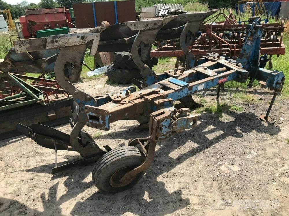 Ransomes 3 furrow reversible plough £800 plus vat £960 - Ga