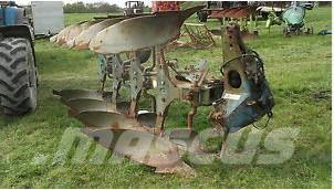 Ransomes 4 furrow reversible plough