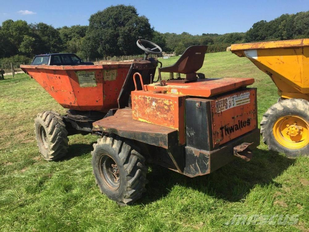Thwaites 3 ton tip and swivel dumper £2950 plus vat £3540