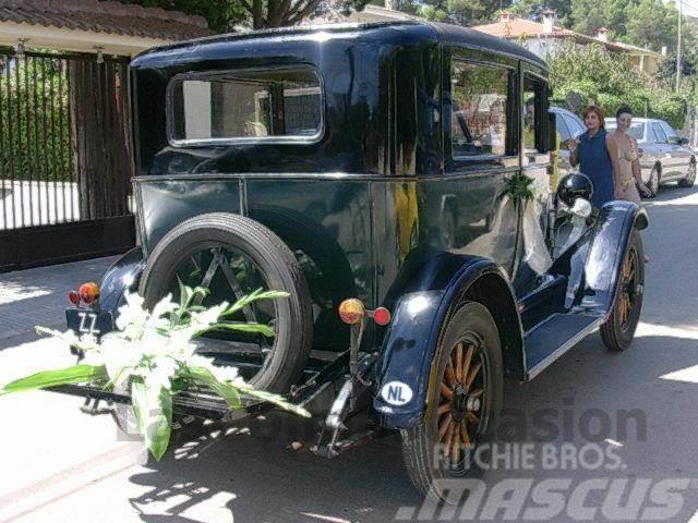 Chevrolet ROOT, 1925, Personbilar
