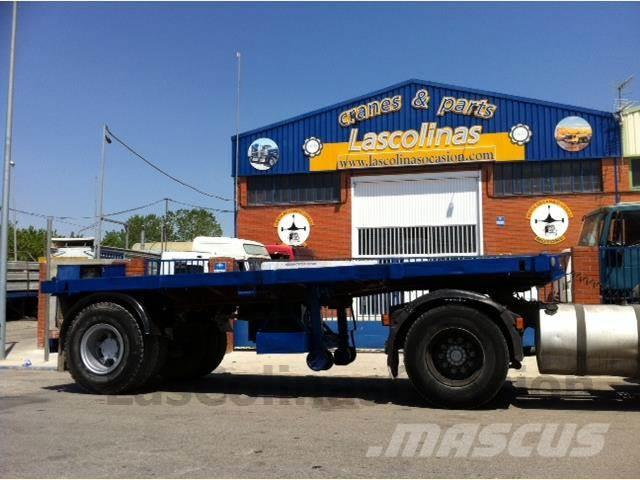 DAF CE 13 25, 1973, Containertrailer