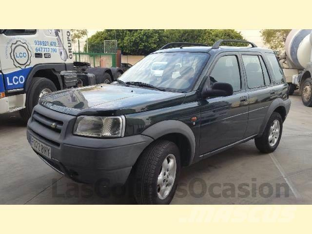 land rover freelander occasion ann e d 39 immatriculation 2001 voiture land rover freelander. Black Bedroom Furniture Sets. Home Design Ideas