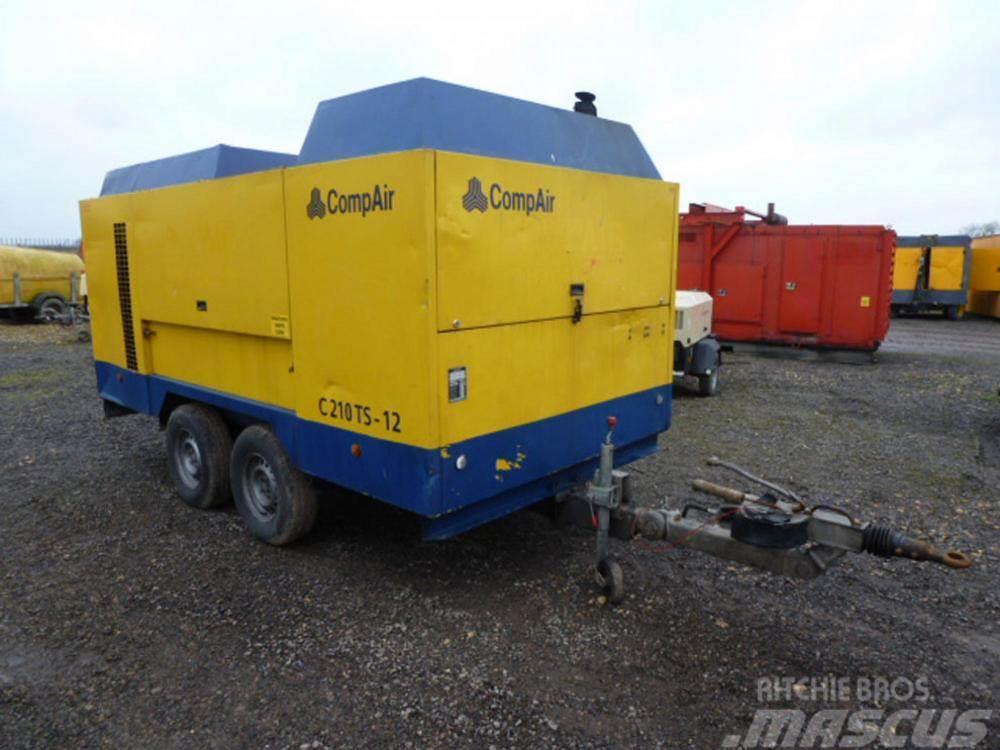 Compair C210TS-12 S-NO 110058 SOLD