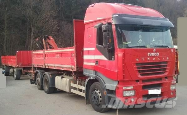 Iveco Stralis AS260 +Palfinger 10500