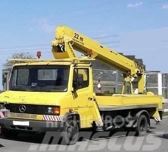 Mercedes-Benz 609 D +Ruthmann TL 200